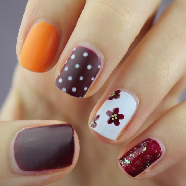 nail polish autumn trend
