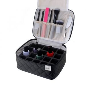 Black Mini Makeup Train Case
