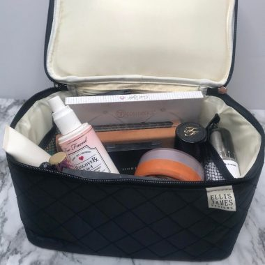 Tall Cosmetic Bag Mallory - Ellis James Designs Family Babes