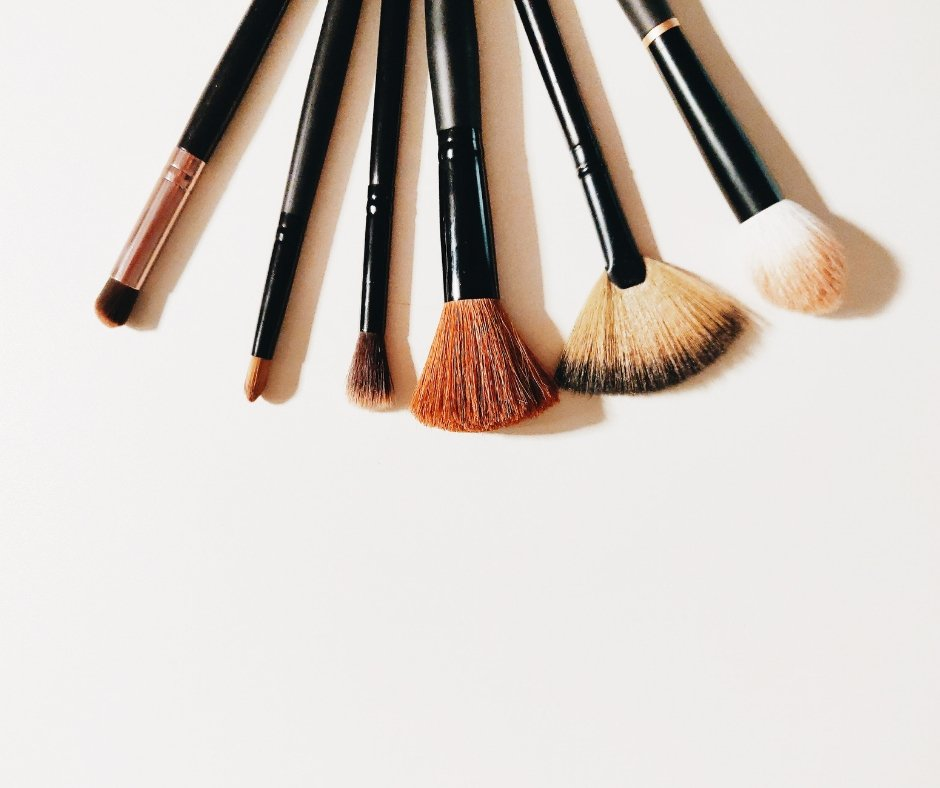 can you blow dry makeup brushes? - Ellis James Designs