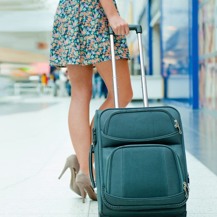 How do you pack makeup in your check-in luggage?