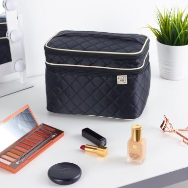Experience Organized Bliss with the Ellis James Designs Tall Cosmetic Bag - Now 50% OFF!
